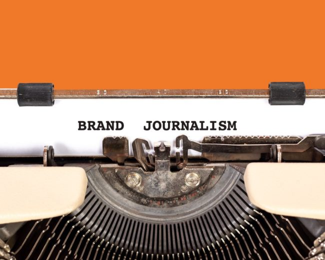 brand journalism