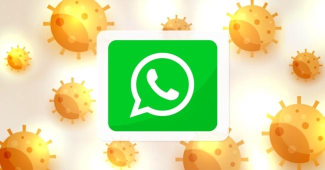 virus whatsapp anteprima link