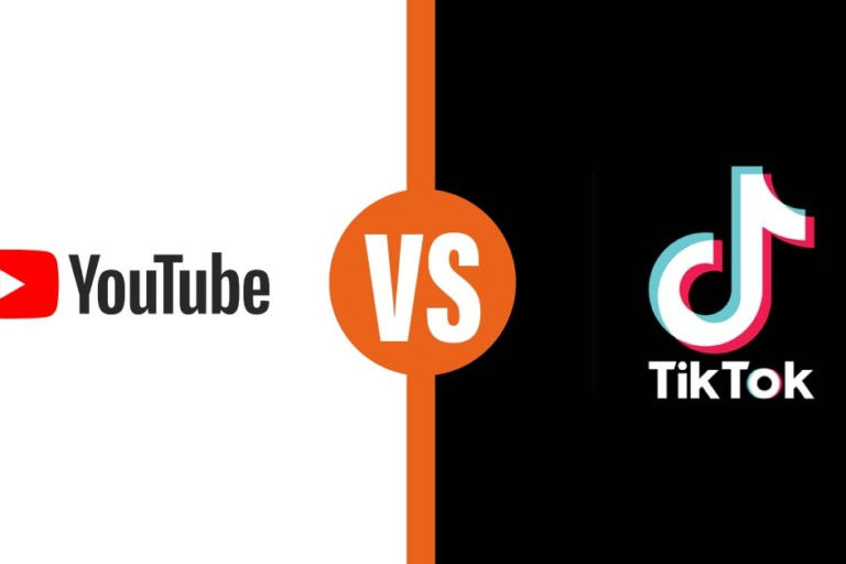 youtube vs TikTok t anteprima link